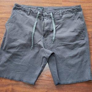 Men's O'Neill grey shorts, size 36
